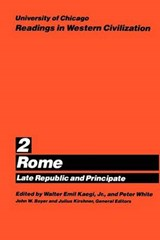 University of Chicago Readings in Western Civilization - Rome Late Republic V 2 (Paper) | Kaegi |