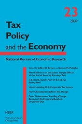 Tax Policy and The Economy V23 | Jeffrey R Brown |