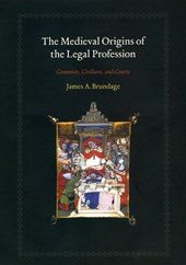 The Medieval Origins of the Legal Profession - Cannonists, Civilians, and Courts