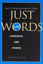Just Words - Law, Language and Power