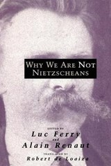 Why we are not Nietzscheans (Paper) | Luc Ferry |
