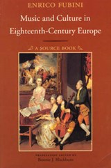 Music & Culture in Eighteenth-Century Europe (Paper) | Fubini |
