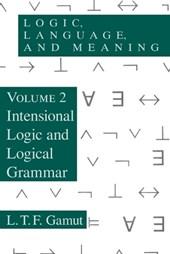 Logic, Language, & Meaning, V 2 (Paper)