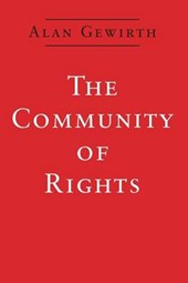 The Community of Rights (Paper) | Alan Gewirth |