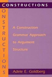 Constructions - A Construction Grammar Approach to Argument Structure (Paper)