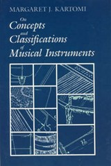 On Concepts & Classifications of Musical Instruments | Kartomi |