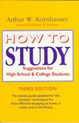 How to Study | Kornhauser |