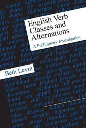 English Verb Classes & Alternations (Paper)