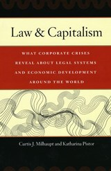 Law and Capitalism - What Corporate Crises Reveal about Legal Systems and Economic Development Around the World | Cutis J Milhaupt |