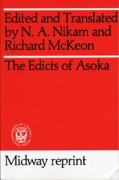 The Edicts of Asoka | N. A. Nikam |
