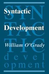 Syntactic Development (Paper)