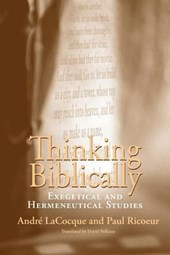 Thinking Biblically - Exegetical and Hermeneutical  Studies