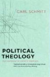 Political Theology - Four Chapters on the Concept of Sovereignty