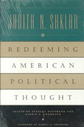 Redeeming American Political Thought (Paper)