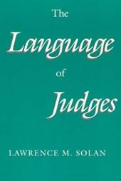 The Language of Judges (Paper)