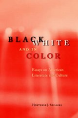 Black, White & in Color - Essays on American Literature & Culture | Hortense J Spillers |