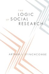 Stinchcombe, A: Logic of Social Research | Arthur L. Stinchcombe |