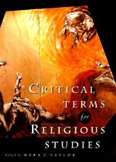 Critical Terms for Religious Studies | Mark Taylor |