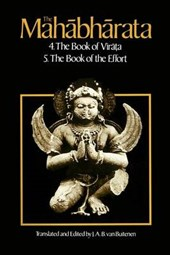 The Mahabharata V 3 - The Book of the Virata Bk4 &  the Book of the Effort Bk5 (Paper) | Van Buitenen |