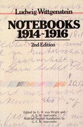 Notebooks, 1914-1916 | Wittgenstein |