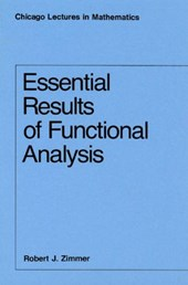 Essential Results of Functional Analysis (Paper) | Zimmer |