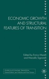 Economic Growth and Structural Features of Transition | auteur onbekend |