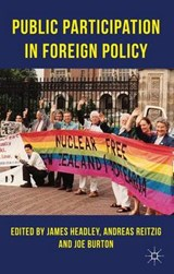 Public Participation in Foreign Policy |  |