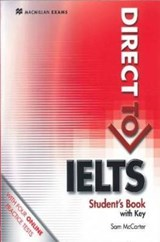 Direct to IELTS Student's Book with Key + Webcode Pack | Sam McCarter |
