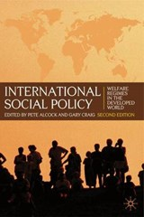 International Social Policy | Pete Alcock |