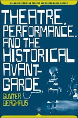 Theatre, Performance, and the Historical Avant-garde | Gunter Berghaus |
