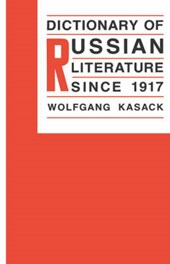 Dictionary of Russian Literature Since