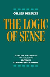 The Logic of Sense | Gilles Deleuze |