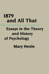 1879 & all That (Paper) | M Henle |