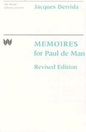 Memoires for Paul de Man