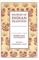 Sources of Indian Tradition | auteur onbekend |