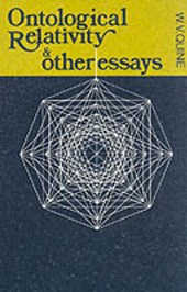 The Ontological Relativity and Other Essays