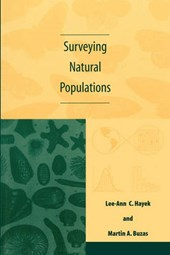 Surveying Natural Populations - Quantitative Tools for Assessing Biodiversity