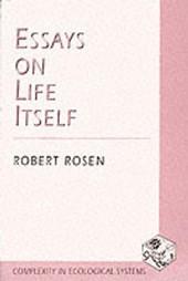 Essays on Life Itself