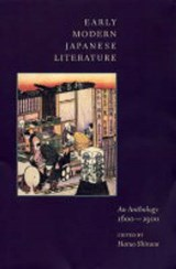 Early Modern Japanese Literature | auteur onbekend |