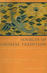 Sources of Chinese Tradition | William Theodore De Bary |