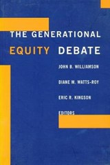 The Generational Equity Debate | John Williamson |