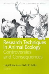 Research Techniques in Animal Ecology | auteur onbekend |
