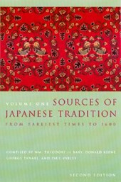 Sources of Japanese Tradition | William Theodore De Bary |
