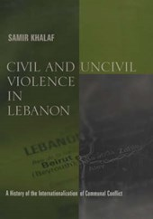 Civil and Uncivil Violence in Lebanon  - A History of the Internationalization of Communal Conflict