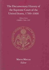 The Documentary History of the Supreme Court of the United States, 1789-1800, volume