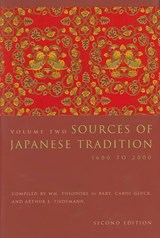 Sources of Japanese Tradition | Wm Theodore De Bary |