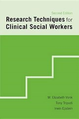 Research Techniques in Clinical Social Work | M Elizabeth Vonk |