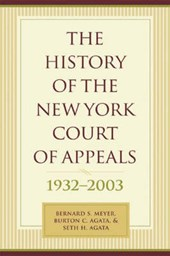 The History of the New York Court of Appeals 1932-