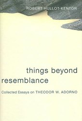 Things Beyond Resemblance - Collected Essays on Theodor W Adorno | Robert Hullot-kentor |