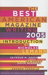 The Best American Magazine Writing | The American So Editors |
